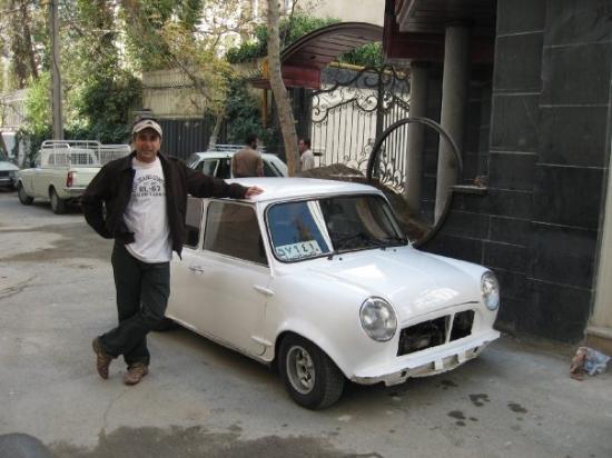 เตหะราน, อิหร่าน: Cousin's Mini, in Tehran, Iran 2006