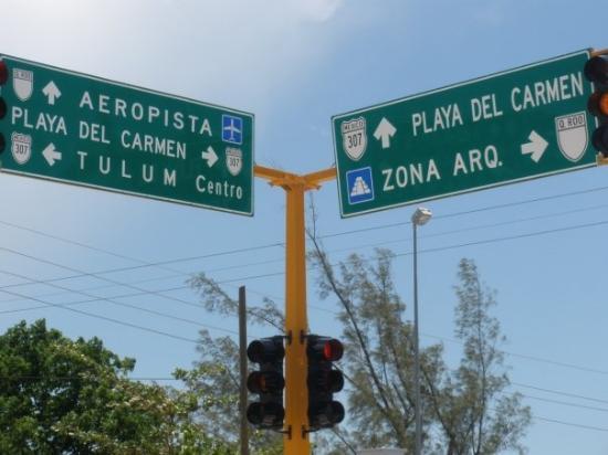พลายาเดลคาร์เมน, เม็กซิโก: on my way to Tulum...