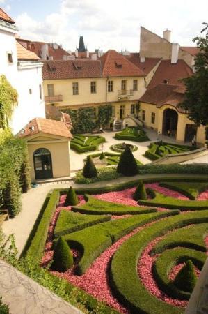 The Vrtba Garden: Vrtba Garden..a beautiful baroque garden -a UNESCO World heritage site
