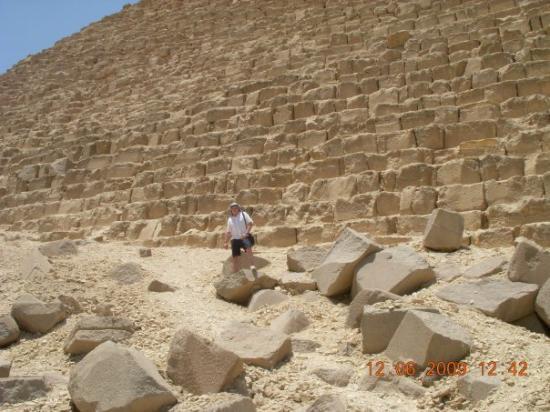 กิซ่า, อียิปต์: en la piramide de Khafre.Giza