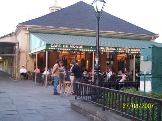 นิวออร์ลีนส์, หลุยเซียน่า: Cafe du monde, French Quarter, New Orleans, LA, United States