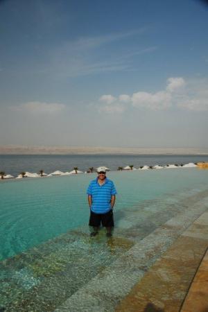 โรงแรมเคมปินสกี้ อิชทาร์ เดดซี: At the Kempinski Hotel, Dead Sea, where we stayed while in that part of Jordan.