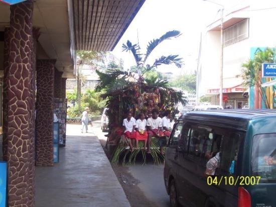 พอร์ตวิลา, วานูอาตู: The locals in Port Vila
