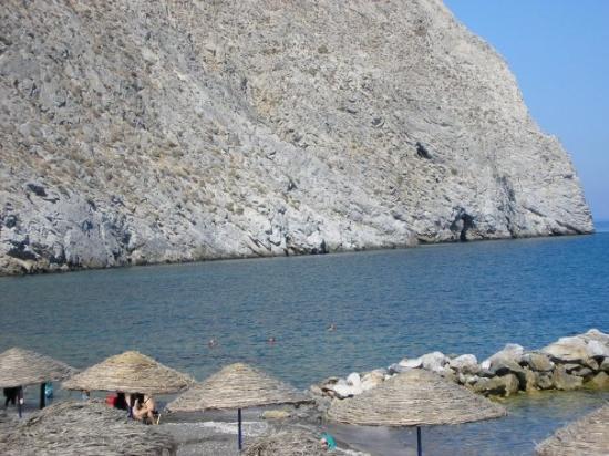 ซานโตรีนี, กรีซ: End of the beach
