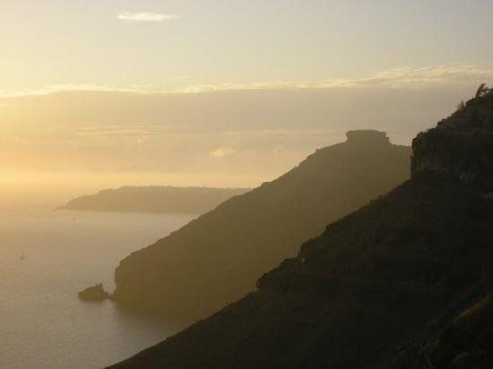 ซานโตรีนี, กรีซ: Sunset on the Caldera