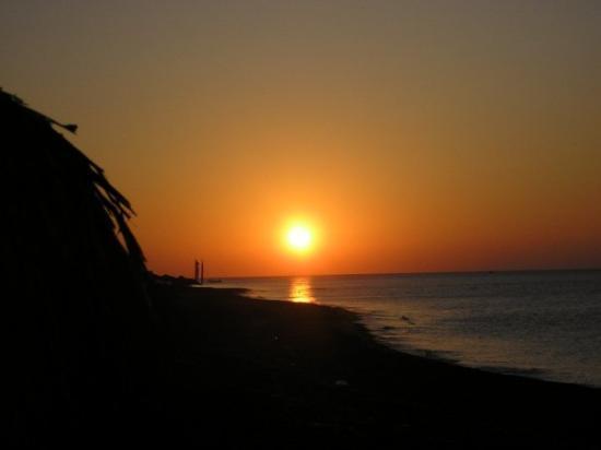 ซานโตรีนี, กรีซ: Santorini, Greece sunrise....