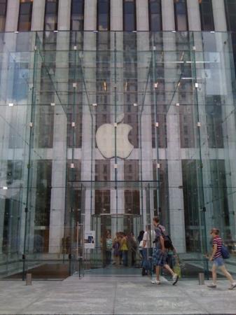 Big Apple Greeter: Apple shop... Un mito...