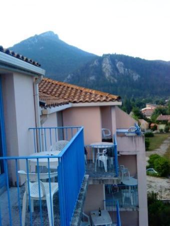 Blick aus Hotelzimmer Castellane