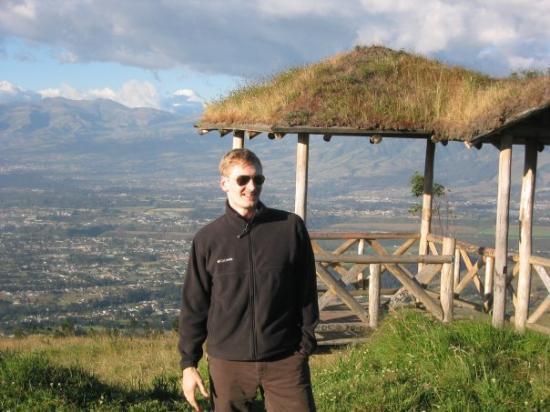 กีโต, เอกวาดอร์: Andy at a Quito panorama