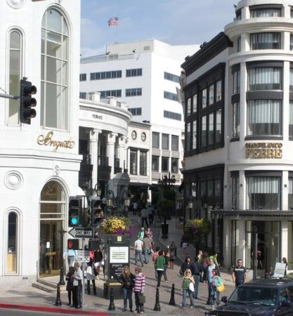 Rodeo Drive. A glut of money and vanity.