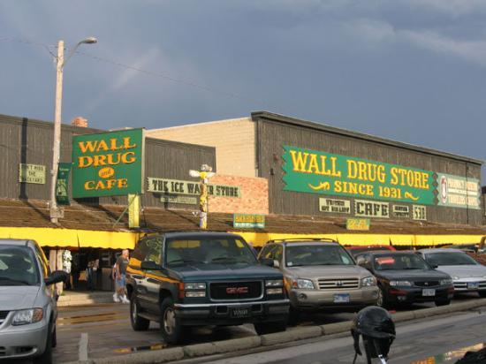 Wall Drug: ... so of course we had to stop in.