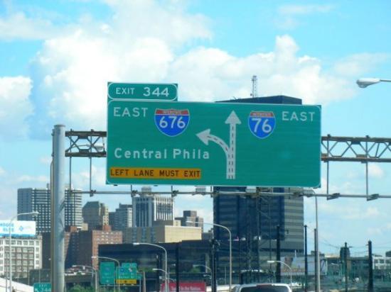 ฟิลาเดลเฟีย, เพนซิลเวเนีย: Getting off the Turn Pike now...