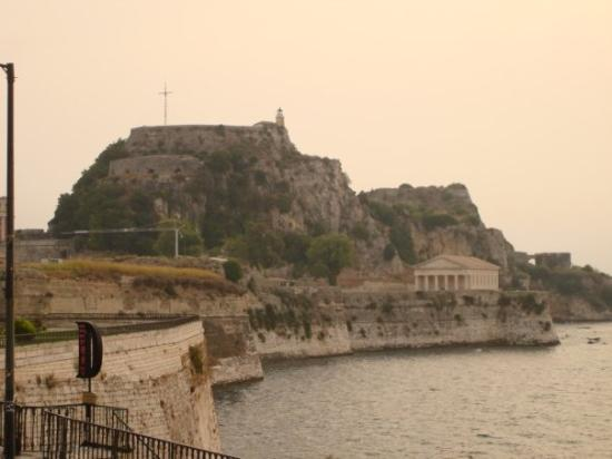Corfu Town, กรีซ: Old fortress, Palaio Frourio, Corfu