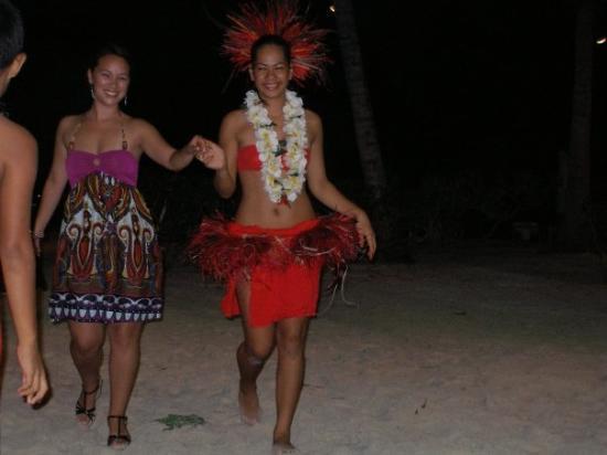 โบราโบรา, เฟรนช์โปลินีเซีย: Tahitian night