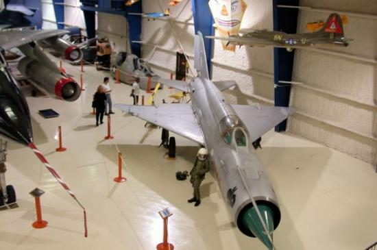Lone Star Flight Museum: Before hurrican Ike hit.