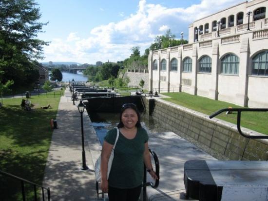 ออตตาวา, แคนาดา: at rideau canal