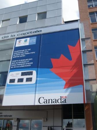 ออตตาวา, แคนาดา: countdown to winter olympics