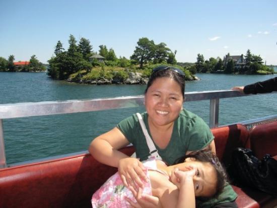 คิงส์ตัน, แคนาดา: 1000 island cruise