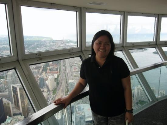 Inside Cn Tower At Sky Pod Picture Of Toronto Ontario Tripadvisor