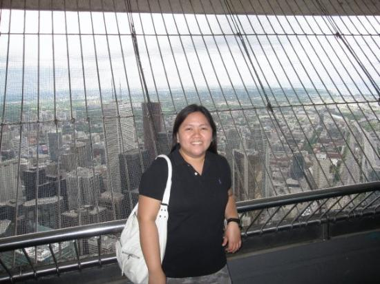 Inside Cn Tower At Look Out Picture Of Toronto Ontario Tripadvisor