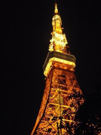 โตเกียวทาวเวอร์: Tokyo Tower.