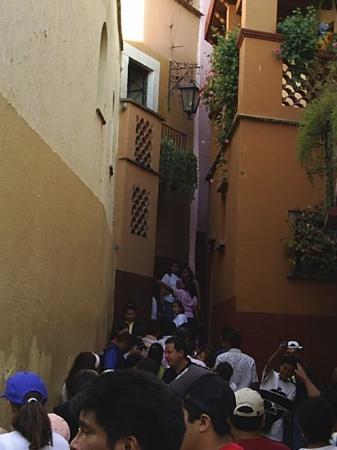 กวานาวาโต, เม็กซิโก: Callejón del beso