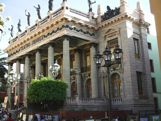 กวานาวาโต, เม็กซิโก: Teatro Benito Juárez.