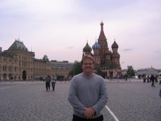 จตุรัสแดง: On Tour In Moscow Russia
