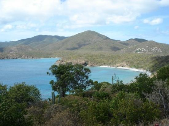 เซนต์จอห์น: St. John, Caribbean - Overlooking Coral Bay from Ram Head