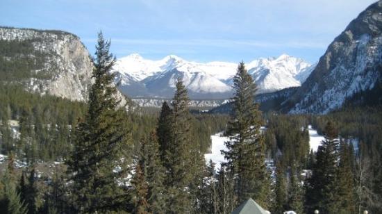 แบมฟ์, แคนาดา: the view from my room