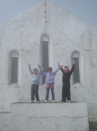 เวสต์พอร์ต, ไอร์แลนด์: The Church at the top of Croagh Patrick.  This is the highest mountain and actually the highest