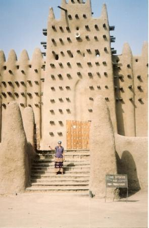Djenne, มาลี: Mezquita de Djenné  (MALI)  January 2003