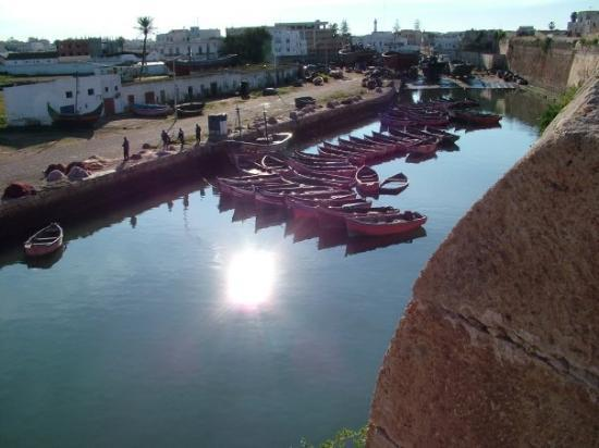 El Jadida, โมร็อกโก: il porto interno