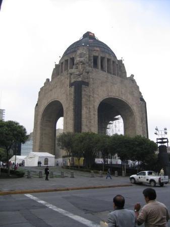 เม็กซิโกซิตี, เม็กซิโก: Revolution Monument