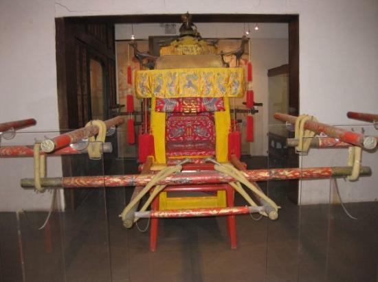 พิพิธภัณฑ์พระราชวัง: the emperor's sedan