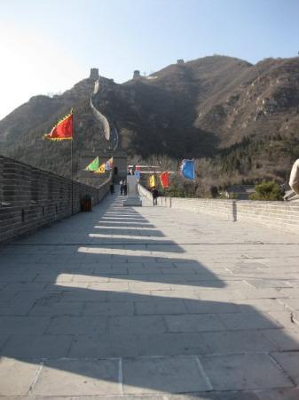 The Great Wall at Badaling ภาพถ่าย