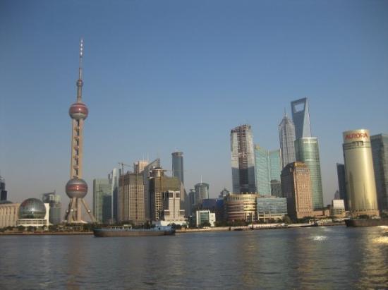 หาดเจ้าพ่อเซี่ยงไฮ้: the bund - pearl tower