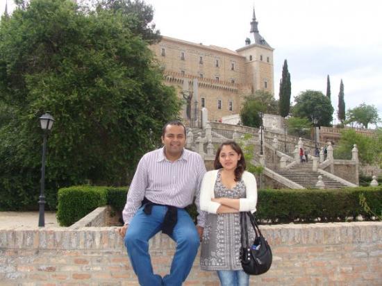 โทลีโด, สเปน: Con Yas en el Alcazar de Toledo!!