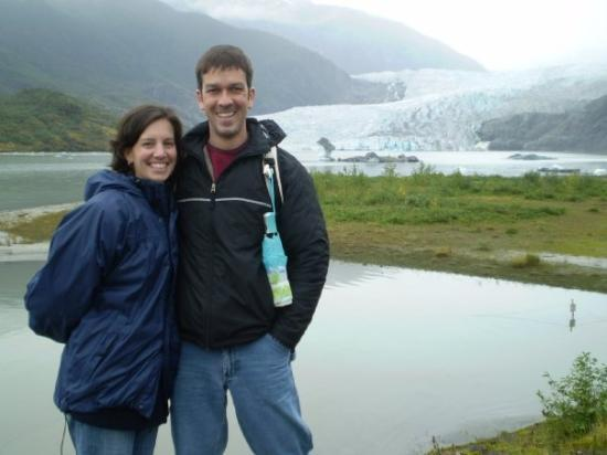จูโน, อลาสกา: Mendenhall Glacier near Juneau, Alaska