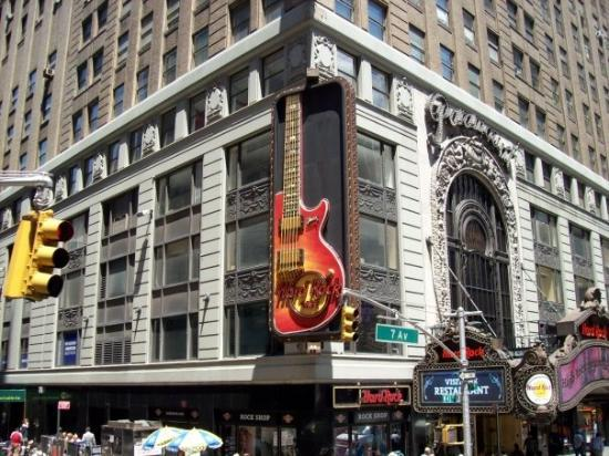 Hard Rock Cafe in Time Square