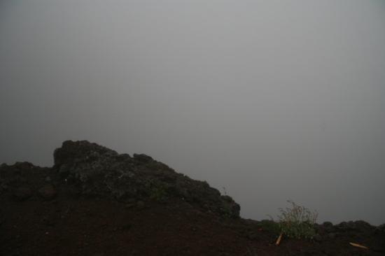 เนเปิลส์, อิตาลี: Mt. Vesuvius - Yep, that's looking in the crater. Had to buy the souvenir book to see what it ac