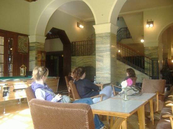 โรงแรมฟันนี่ฟาร์ม: The lobby
