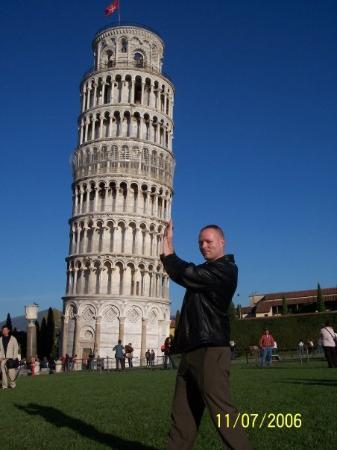 ปิซา, อิตาลี: Leaning Tower of Pisa, Italy, 2006