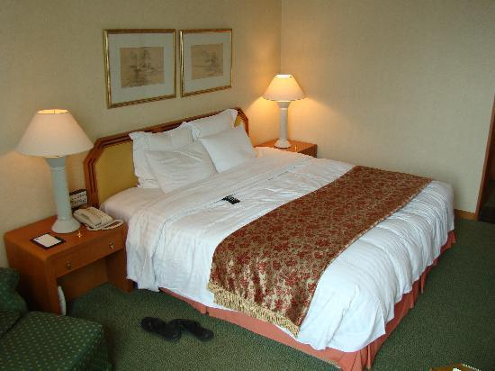 โรงแรมโนโวเทล แอมบาสซาเดอร์ ปูซาน: The King Bed