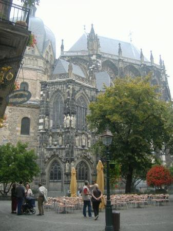 Aachen Cathedral (Dom): Umm, yeah.