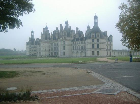 Chambord - Largest chateaux in France.