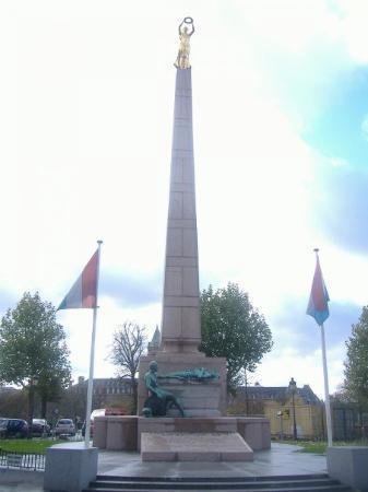 เมืองลักเซมเบิร์ก, ลักเซมเบิร์ก: Monument near the city center.