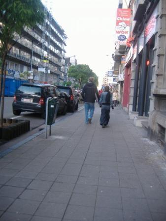ลีแอช, เบลเยียม: Streets of Liege.
