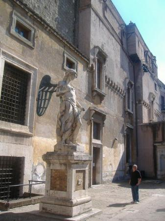 Museo Nazionale di Castel Sant'Angelo: Inside the Castle.  It was first a castle, then a prison, and now it's a museum.