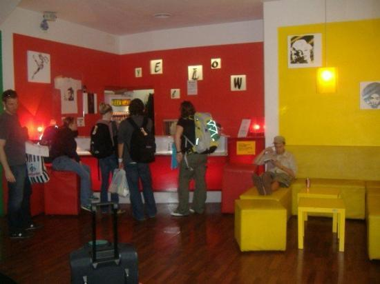 "The Yellow: ""Yellow"" hostel.  It was pretty nice."